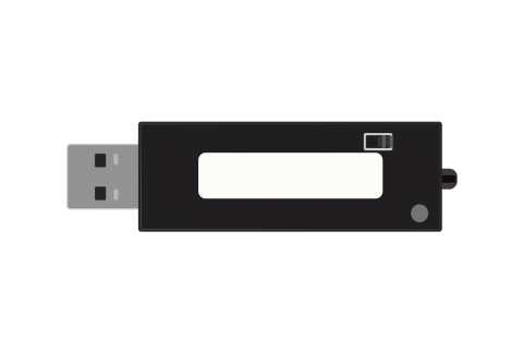 RFID USB Reader with HID Interface